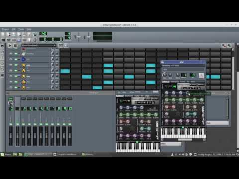 Making Chiptune is stupid easy in LMMS