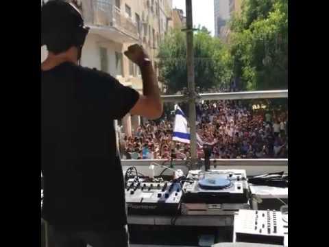 Jerusalem Summer street rave party 2017