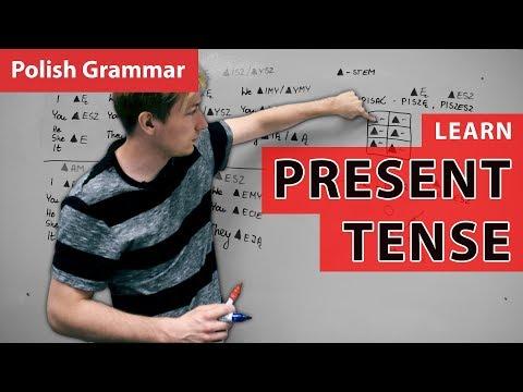 Polish Grammar - Present Tense