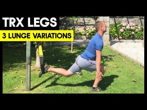 3 TRX Lunge Variations