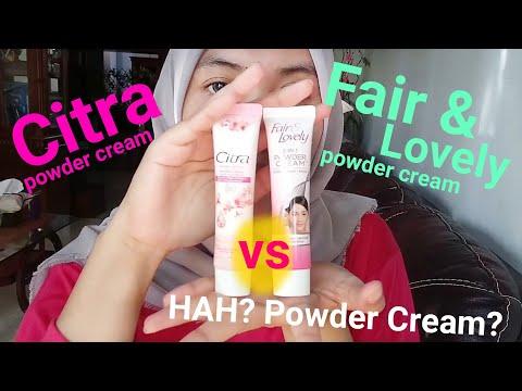 Review Powder Cream Citra dan Fair & Lovely - REVIEW JUJUR (tidak ada dusta diantara kita 👍)