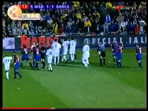 Zinedine Zidane VS Luis Enrique FIGHT