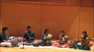 Cleveland Aradhana 2012 - Inaugural Concert (Veena, Venu/Flute, Violin)
