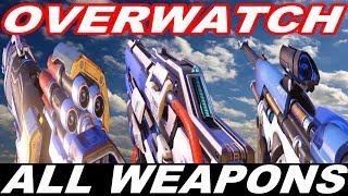 OVERWATCH - ALL WEAPONS / GUN SOUNDS [2018]