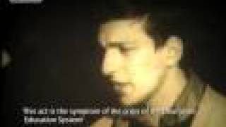 This video shows a 1976 interview with Jose Manuel Durao Barroso, now President of the European Commission, as a young, passionate Maoist student leader in Portugal, talking about a resolution adopted