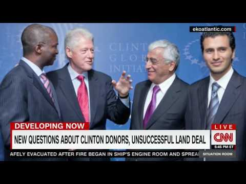 CNN Covers Clinton's State Department Shady Move To Buy Land From Foreign Foundation Donor