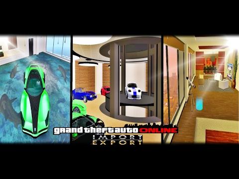 ★ GTA SA - Garage DLC Import/Export - GTA V Online ★