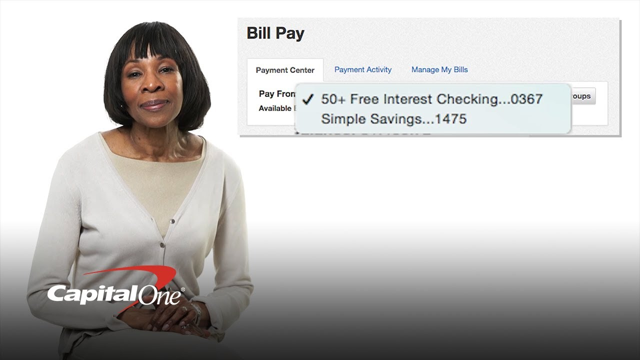 How To Set Up Bill Pay (reducing unnecessary errands) Capital One