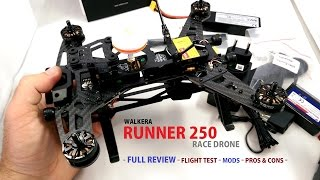 walkera runner 250 race drone review mods flight test pros and cons