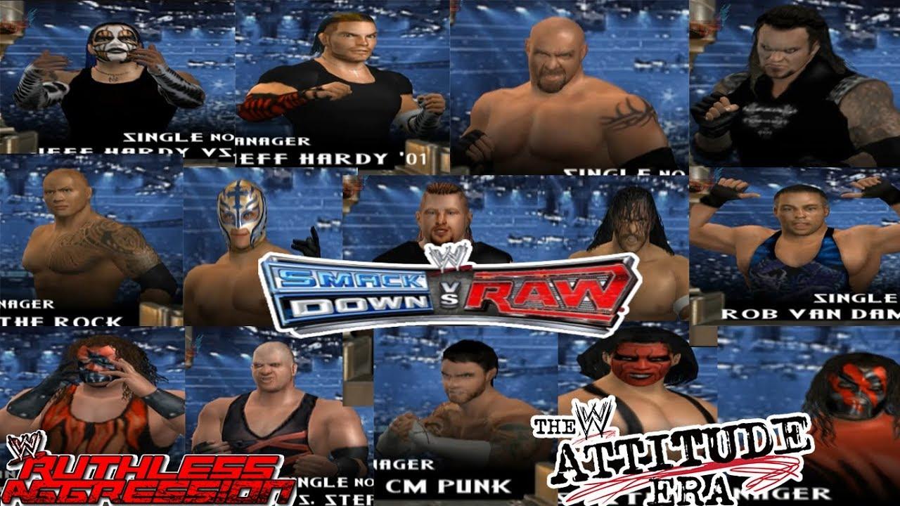 Rob Van Dam WWE SmackDown vs. Raw 2007 Roster