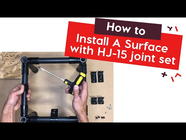 How To Install A Surface with HJ 15 joint set | tinktube
