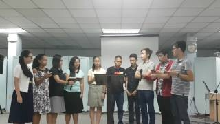 Youth Night 2017 (Music Night) - Group Singing - Group Kambal Addiction