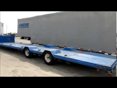 1996 TRAIL KING RGN DROPDECK For Sale - YouTube