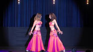 Bellydancers Aïcha and Shari dance to forbidden love by Madonna