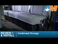 2009-2014 Ford F-150 (SuperCab, SuperCrew) Underseat Storage Review & Install