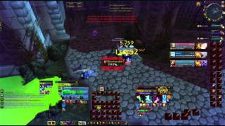 World of Warcraft Unholy Deathknight heal druide frost mage 3vs3 Arena PvP