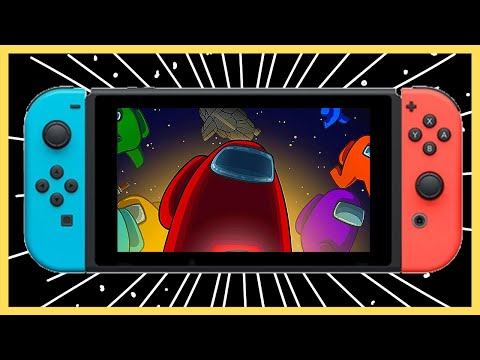 Among Us Nintendo Switch Playing With Viewers + Airship?!?!