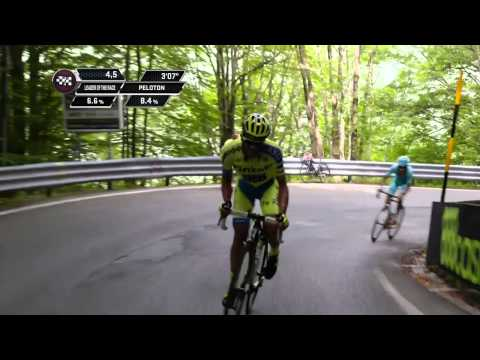 Giro d'Italia 2015: stage 5 race highlights