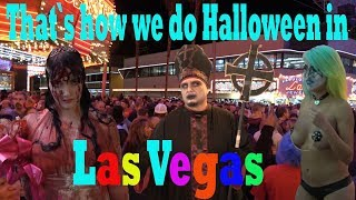 """That`s how we do Halloween in Las Vegas""   Vlog #175"