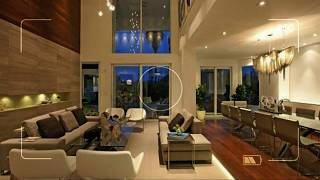 decorating ideas for living rooms with high ceilings