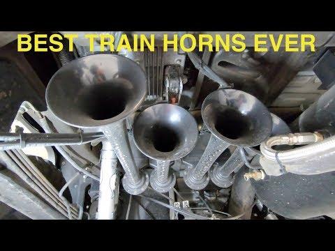Best train horn setup