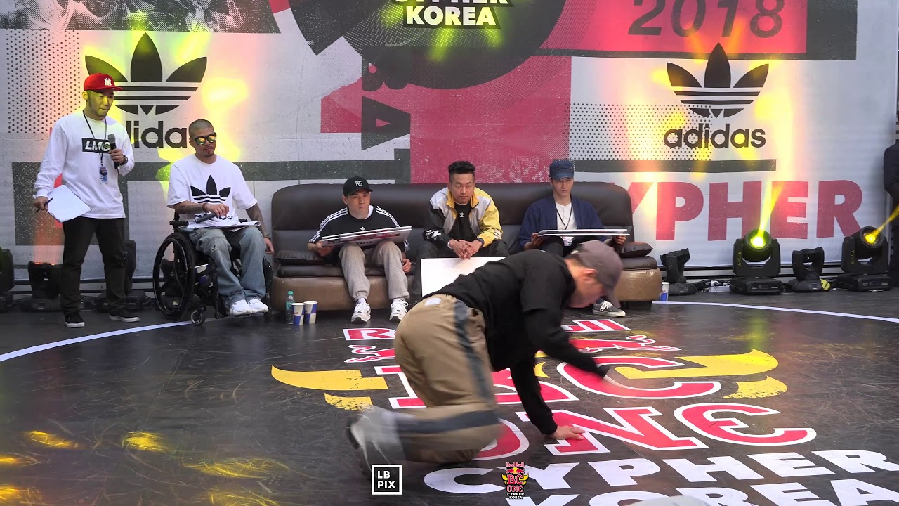 LEON vs NOODLE|Semi @ RED BULL BC ONE 2018 CYPHER KOREA|LB-PIX