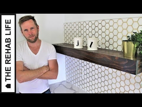 The $20 Floating Shelf - Easy DIY Project!