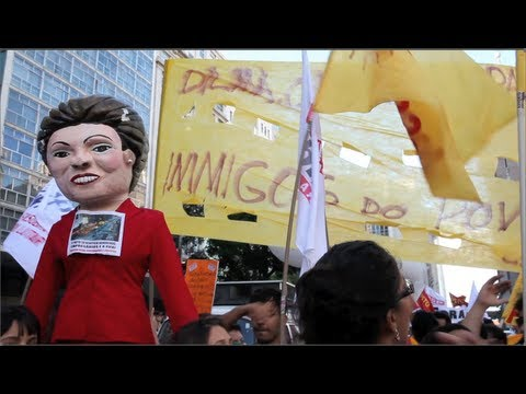 Brazil's Major Unions Join Movement for First Time, Strike in 150 Cities