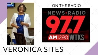 Live on the Radio in Georgia | Veronica Sites