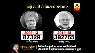 Master Stroke: NPA Accounts Kept Increasing During Modi's Regime | ABP News