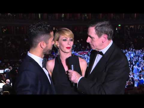 An exciting interview with Rachid and Anna at The Royal Albert Hall