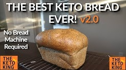 The BEST Keto Bread EVER! (Oven version) | Keto yeast bread | Low Carb Bread | Ketogenic Bread
