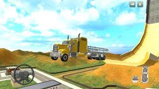 Mega Ramp - Oil Tanker Truck Simulator - Android Gameplay FHD