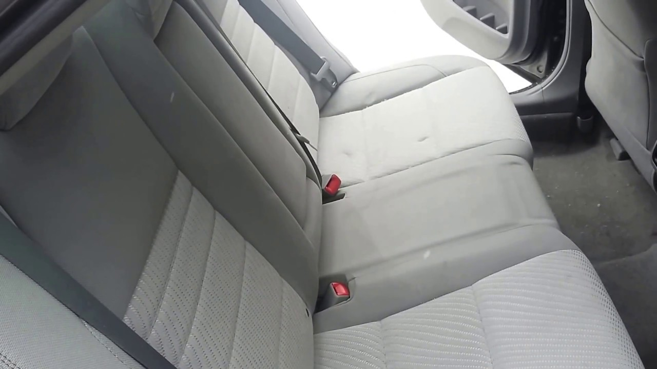 2016 Toyota Camry How To Fold Down Rear Seats Youtube