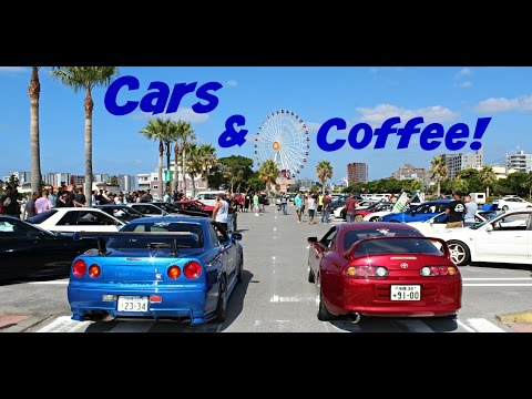 Best Cars and Coffee Yet! | Okinawa, Japan