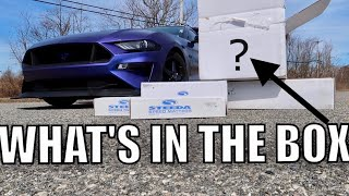 THEY SENT ME HARDCORE RACE PARTS FOR MY 2018-2019 MUSTANG GT!