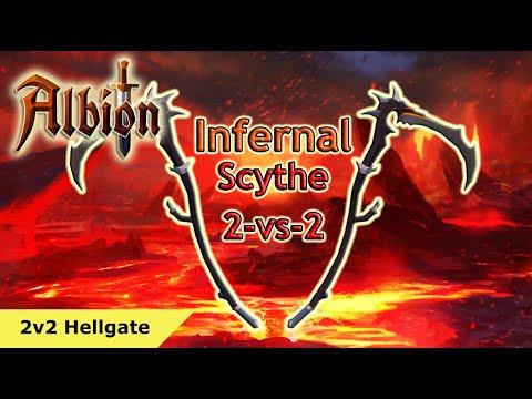 2v2 HG Infernal Scythe | Albion Online
