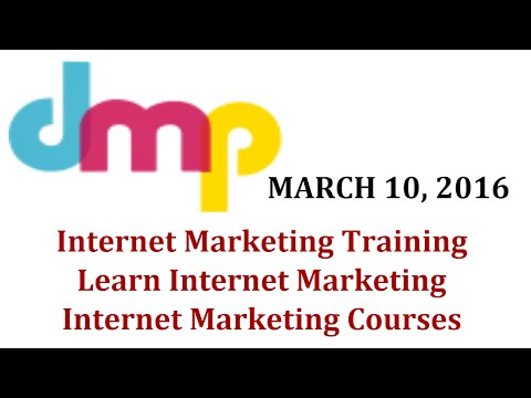Internet Marketing Training | Learn Internet Marketing | Internet Marketing Courses