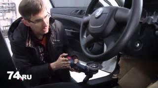 Взлом блокиратора рулевого вала Гарант Блок Люкс / Взлом Гаранта / automamont.ru