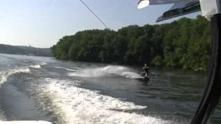 1080p HD DJ Denno Moomba Lake Hopatcong NJ Wakeboarding Clip
