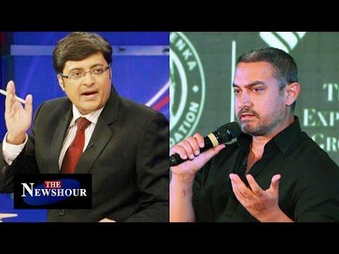 Aamir Khan Joins Intolerance Debate : The Newshour Debate (24th Nov 2015)