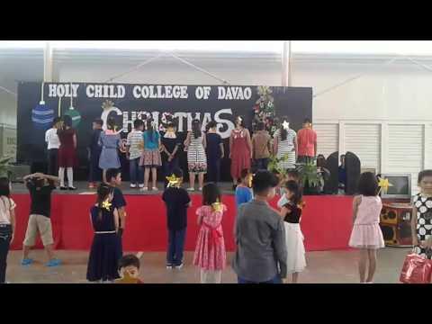holy child christmas party cabantian davao city
