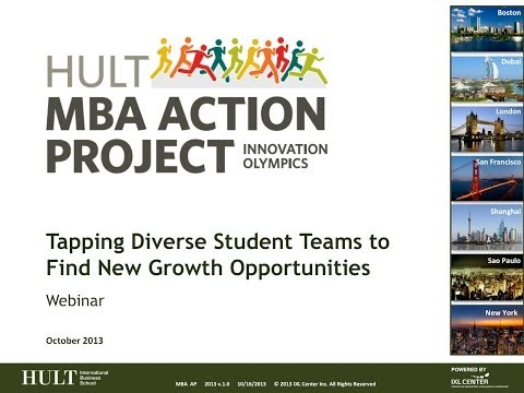 Hult MBA Action Project: Tapping Diverse Student Teams to Find New Growth Opportunities