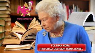 🔴📣ÚLTIMA HORA👉DRÁST!CA MEDIDA TOMARÍA LA REINA ISABEL RESPECTO AL PRÍNCIPE HARRY Y MEGHAN MARKLE HOY