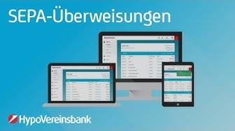 SEPA-Überweisungen im Online Banking