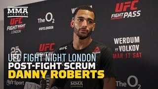 Danny Roberts Wants Donald Cerrone in Liverpool After Win Over Oliver Enkamp - MMA Fighting
