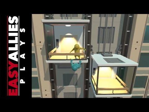 Easy Allies Plays Gang Beasts - Headbutt Meta