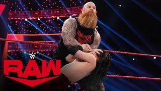 Erick Rowan destroys local competitor for touching his cage: Raw, Dec. 16, 2019