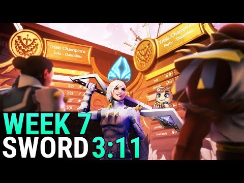 3:11 Sword Solo - Week 7 Dauntless Trials - Dauntless Patch