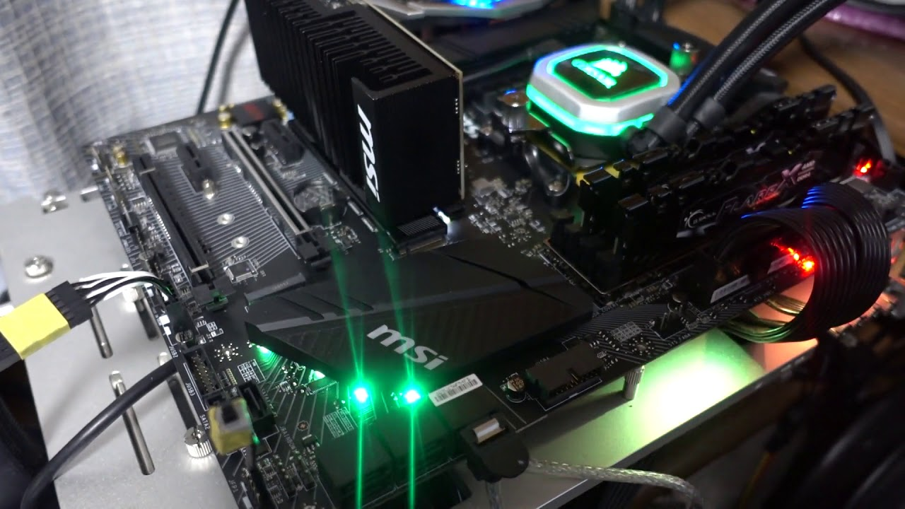 MSI X470 GAMING PRO CARBON 起動時間(BIOS:2 00)